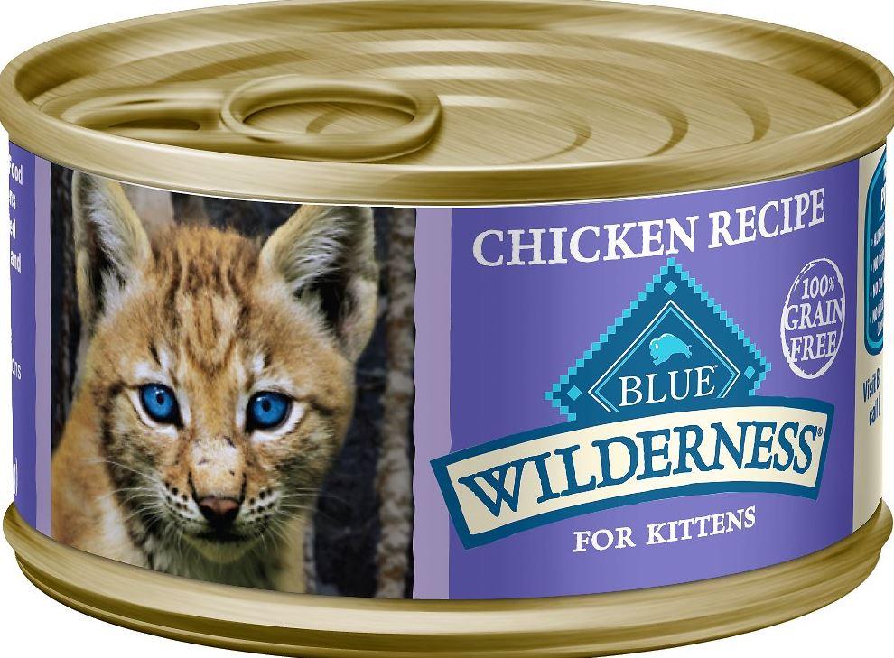 Blue Wilderness Kitten Canned