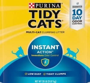 Tidy Cats Instant Action Scented Clumping Clay Cat Litter