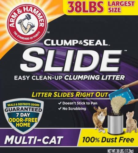 Arm & Hammer Clump & Seal Slide Multi-Cat 100% Dust Free