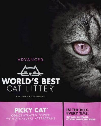 World's Best Cat Litter - ADVANCED PICKY CAT